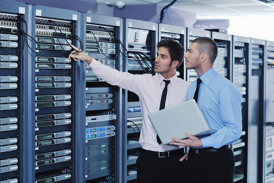 IT support in a datacenter